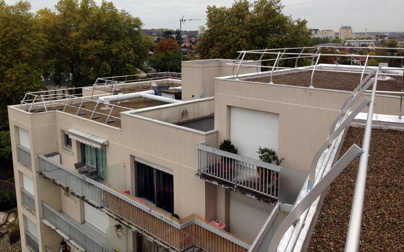 TOITURES TERRASSES INACCESSIBLES ET ACCESSIBLES